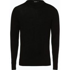 Tiger of Sweden - Sweter męski, czarny. Brązowe swetry klasyczne męskie marki Tiger of Sweden, m, z wełny. Za 469,95 zł.