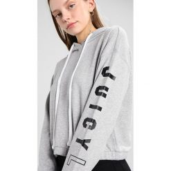 Bluzy rozpinane damskie: Juicy Couture FRENCH TERRY  Bluza z kapturem heather cozy