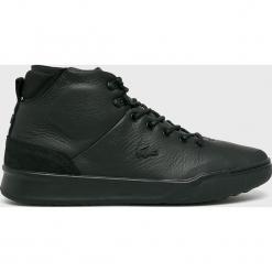 Lacoste - Buty Explorateur Classic. Czarne buty skate męskie Lacoste, z materiału, na sznurówki, thinsulate. Za 599,90 zł.