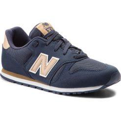 Trampki chłopięce: Sneakersy NEW BALANCE – KJ373ATY Granatowy