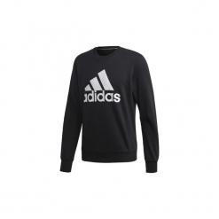 Bluzy adidas  Bluza z zaokrąglonym dekoltem Must Haves Badge of Sport. Białe bluzy męskie rozpinane marki Adidas, m. Za 229,00 zł.