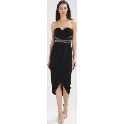 Sukienki hiszpanki: TFNC JACY MIDI WRAP Sukienka koktajlowa black/silver
