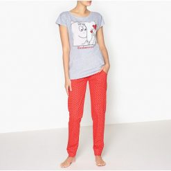 Piżamy damskie: Piżama z nadrukiem, Barbapapa