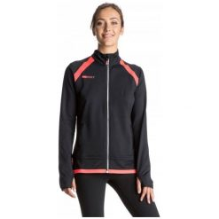 Roxy Bluza Sportowa Keithany Fleece J True Black M. Czarne bluzy rozpinane damskie Roxy, l. W wyprzedaży za 229,00 zł.
