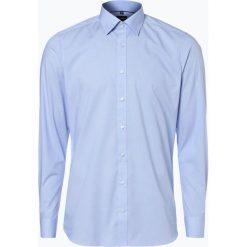 Olymp Level Five - Koszula męska łatwa w prasowaniu, niebieski. Niebieskie koszule męskie na spinki OLYMP Level Five, m, z długim rękawem. Za 229,95 zł.