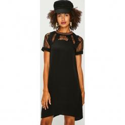 Desigual - Sukienka. Czarne sukienki koronkowe marki Mohito, l, proste. Za 499,90 zł.