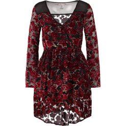 Band of Gypsies Sukienka letnia black/red. Czerwone sukienki letnie Band of Gypsies, z materiału. Za 439,00 zł.