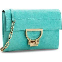 Torebka COCCINELLE - BD6 Arlettis Suede E1 BD6 19 01 01 Turquoise 028. Zielone torebki klasyczne damskie Coccinelle, ze skóry. W wyprzedaży za 629,00 zł.