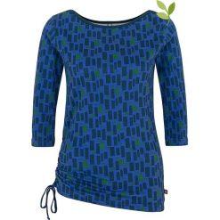 """Bluzki asymetryczne: Koszulka """"Meriada"""" w kolorze niebieskim"""