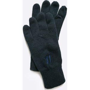 Trussardi Jeans - Rękawiczki. Czarne bez kategorii marki Trussardi Jeans, z jeansu, na obcasie. W wyprzedaży za 79,90 zł.