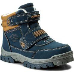 Buty zimowe chłopięce: Trapery ACTION BOY – CP07-2772 Granatowy 1