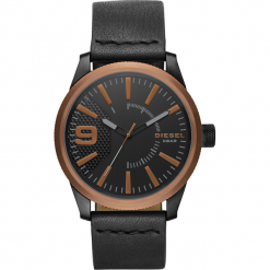 Zegarek DIESEL - Rasp DZ1841 Black/Rose Gold. Czarne zegarki męskie Diesel. Za 679,00 zł.