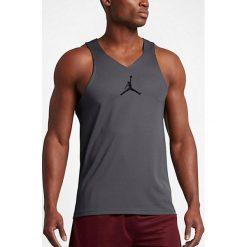 Nike Koszulka męska Jordan Men`s Ultimate Fight Basketball Jersey szara r. S (842314 021). Szare koszulki sportowe męskie marki Nike, m, z jersey. Za 219,97 zł.