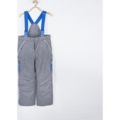 Spodnie. Szare spodnie chłopięce SNOWBOARD BOY, z poliesteru. Za 179,90 zł.
