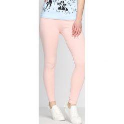 Spodnie damskie: Różowe Legginsy We Ride