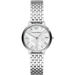 Zegarek EMPORIO ARMANI - Kappa AR11112 2-Tone/Rose Gold/Silver. Szare zegarki damskie marki Emporio Armani. Za 979,00 zł.