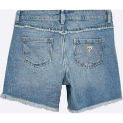 Guess Jeans - Szorty dziecięce 118-175 cm. Czarne szorty damskie z printem marki bonprix. W wyprzedaży za 179,90 zł.