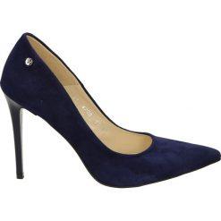 Buty ślubne damskie: Czółenka - 4700 C BL W18
