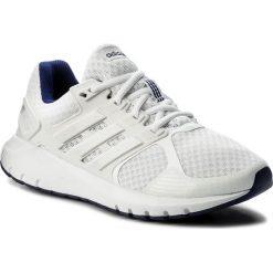 Buty adidas - Duramo 8 W CP8756 Ftwwht/Fwwht/Reapur. Białe buty do biegania damskie Adidas, z materiału. W wyprzedaży za 199,00 zł.