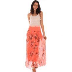 Spódnice wieczorowe: Spódnica w kolorze koralowym