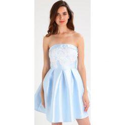 Sukienki hiszpanki: Chi Chi London Tall HEATHER Sukienka koktajlowa blue