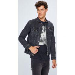 Levi's - Kurtka. Brązowe kurtki męskie jeansowe marki Levi's®, l. Za 399,90 zł.
