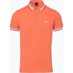 BOSS Athleisurewear - Męska koszulka polo – Paddy, czerwony. Czerwone koszulki polo BOSS Athleisurewear, l, w paski. Za 349,95 zł.