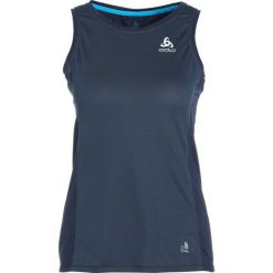 ODLO CREW NECK SINGLET OMNIUS FDRY   Koszulka sportowa diving navy. Niebieskie t-shirty damskie Odlo, l, z elastanu. Za 169,00 zł.