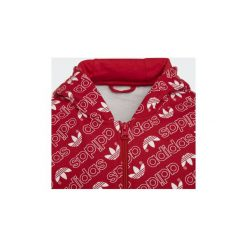 Odzież dziecięca: Bluzy dresowe Dziecko adidas  Bluza z kapturem Trefoil Monogram