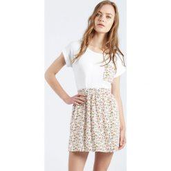 Minispódniczki: Spódnica Falda Alisha z materiału z kwiecistym nadrukiem