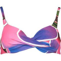 """Biustonosz bikini """"Alanya"""" w kolorze fioletowo-niebieskim. Niebieskie biustonosze Lisca. W wyprzedaży za 78,95 zł."""