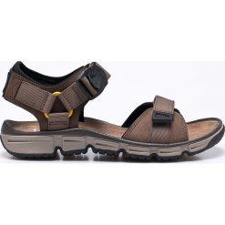 Clarks - Sandały Explore Part. Czarne sandały męskie marki Clarks, z materiału. W wyprzedaży za 269,90 zł.