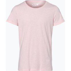 DENIM by Nils Sundström - T-shirt męski, różowy. Fioletowe t-shirty męskie marki KIPSTA, m, z elastanu, z długim rękawem, na fitness i siłownię. Za 29,95 zł.
