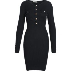 Czarna Sukienka Keep Turning. Czarne sukienki dzianinowe marki Born2be, na jesień, l. Za 99,99 zł.