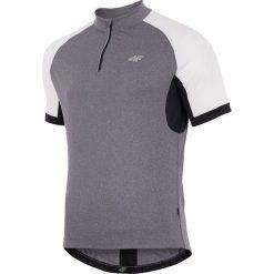 4f Koszulka rowerowa męska H4L18-RKM001 szara r. L. Szare odzież rowerowa męska marki 4f, l, z elastanu, z dekoltem w łódkę. Za 63,83 zł.