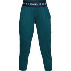 Under Armour Spodnie sportowe damskie Armour Sport Crop zielone r. S (1305468-716). Szare spodnie sportowe damskie marki Under Armour, z elastanu, sportowe. Za 122,90 zł.