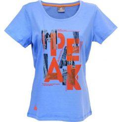Bluzki damskie: PEAK Koszulka Damska F652022 niebieska r. S (63876)