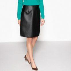 Minispódniczki: Rozkloszowana spódnica z ekologicznej skóry