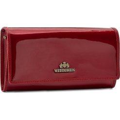 Duży Portfel Damski WITTCHEN - 25-1-052-3  Czerwony. Czerwone portfele damskie Wittchen, z lakierowanej skóry. Za 399,00 zł.