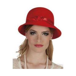 Kapelusz damski Lady Charleston czerwony. Czerwone kapelusze damskie ASTER. Za 29,72 zł.