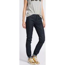 G-Star Raw - Jeansy. Szare jeansy damskie rurki marki G-Star RAW. W wyprzedaży za 299,90 zł.