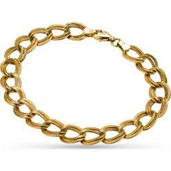 RABAT Złota Bransoletka - złoto żółte 585. Żółte bransoletki damskie sznurkowe W.KRUK, złote. W wyprzedaży za 969,00 zł.