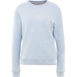 Holzweiler ANNA Bluza light blue melange. Niebieskie bluzy rozpinane damskie Holzweiler, l, z bawełny. Za 649,00 zł.
