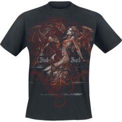 T-shirty męskie z nadrukiem: Alchemy England Classic – Blood Bound T-Shirt czarny