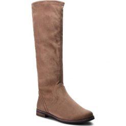 Kozaki CAPRICE - 9-25507-21 Stone Stretch 208. Brązowe buty zimowe damskie Caprice, z materiału. Za 249,90 zł.