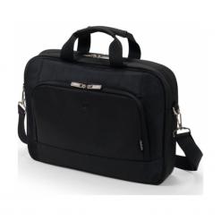 """Dicota Top Traveller Base 15"""" - 15.6"""" czarna. Czarne torby na laptopa Dicota, z materiału. Za 139,00 zł."""