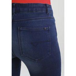 Noisy May LUCY Jeans Skinny Fit dark blue denim. Niebieskie jeansy damskie marki Noisy May. W wyprzedaży za 143,10 zł.