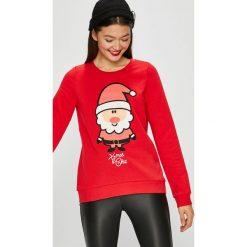 Vero Moda - Bluza Cute. Różowe bluzy rozpinane damskie Vero Moda, l, z nadrukiem, z bawełny, bez kaptura. W wyprzedaży za 99,90 zł.