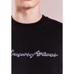 Emporio Armani Bluza nero. Szare bluzy męskie marki Emporio Armani, l, z bawełny, z kapturem. W wyprzedaży za 353,40 zł.