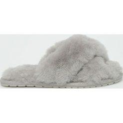 Emu Australia - Kapcie Mayberry. Szare kapcie damskie EMU Australia, z gumy. Za 249,90 zł.